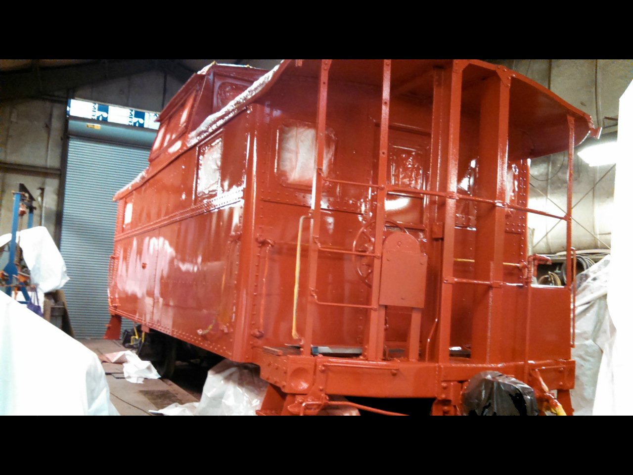 Caboose Painted