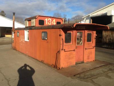 New Haven Railroad Caboose