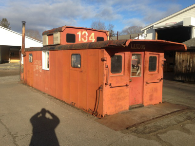 New Haven Railroad Caboose